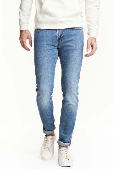 Skinny Regular Jeans - Light denim blue -  | H&M