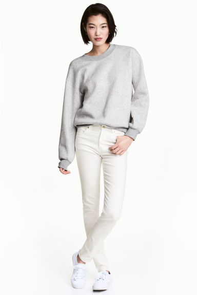 Pantalon super stretch - Blanc -  | H&M FR