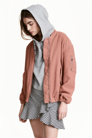 Bomber jacket - Nougat - Ladies | H&M CN