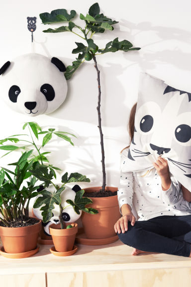 Décor mural - Blanc/panda - HOME | H&M BE