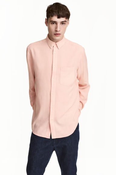 Shirt Regular fit - Light apricot -  | H&M