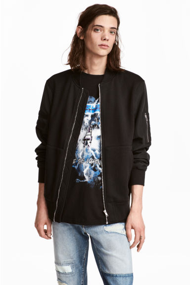 Bomber jacket - Black - Men | H&M CN