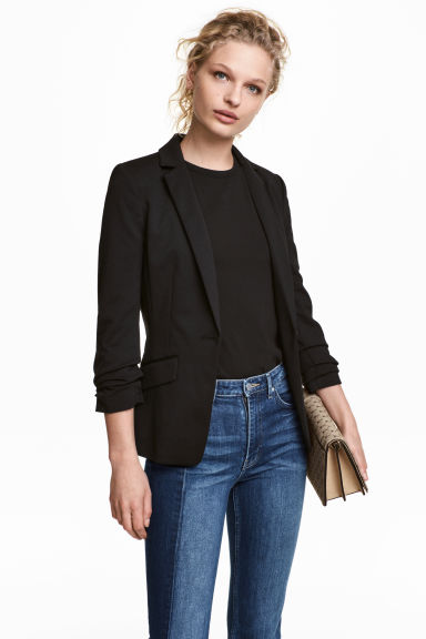 Jersey jacket - Black -  | H&M IE