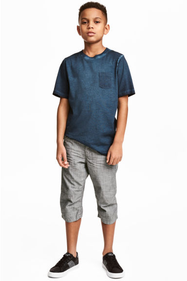 Knee-length shorts - Dark grey - Kids | H&M GB