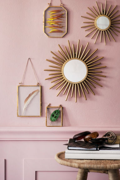 Metal photo frame - Gold-coloured - Home All | H&M CN