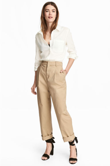 Chino - Beige - DAMES | H&M BE