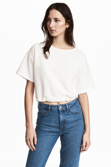 Short top - White -  | H&M IE