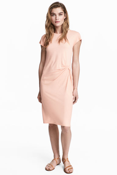 Short dress - Powder pink -  | H&M
