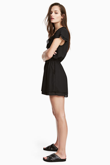 Playsuit - Black -  | H&M IE