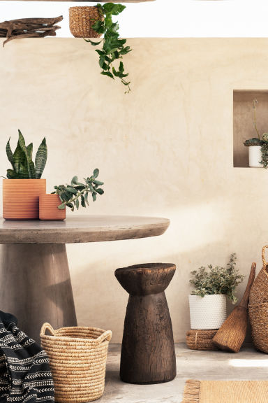 Grote opbergmand - Naturel - HOME | H&M BE
