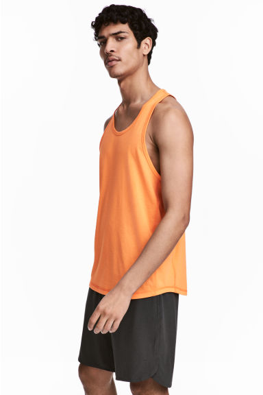 Sports top - Orange -  | H&M