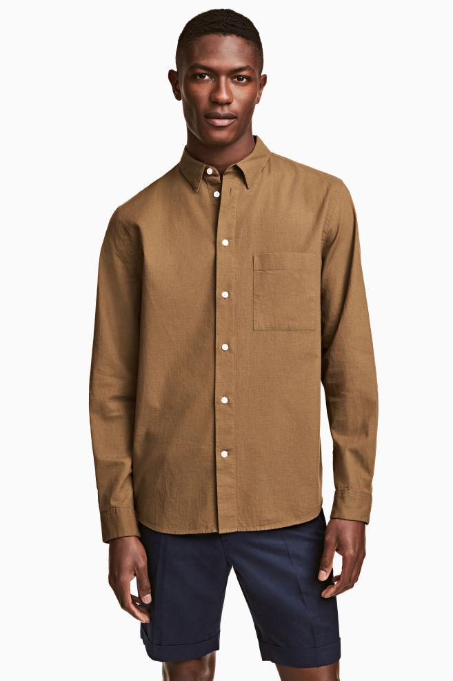 dunkles hemd