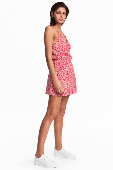 Playsuit - Red/Patterned -  | H&M CN