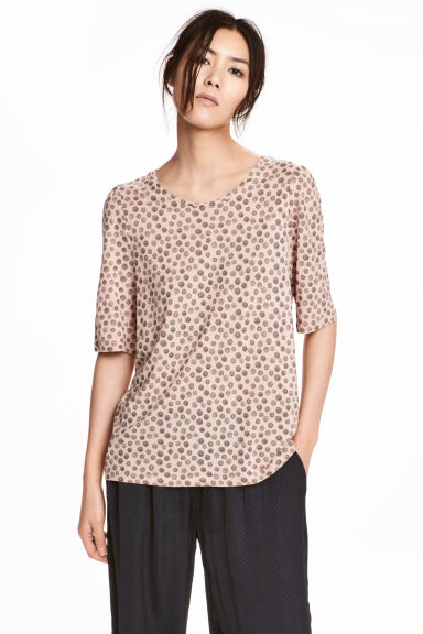 Top en jersey - Orange - FEMME | H&M BE