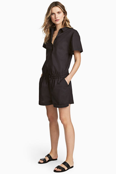 Playsuit - Black - Ladies | H&M