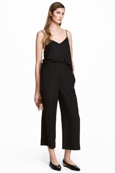 Culottes - Black - Ladies | H&M
