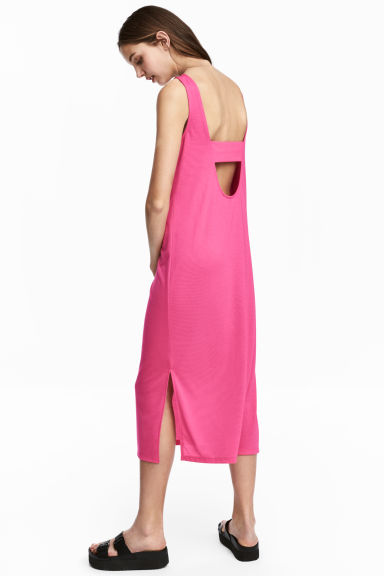 Jersey dress - Cerise -  | H&M GB