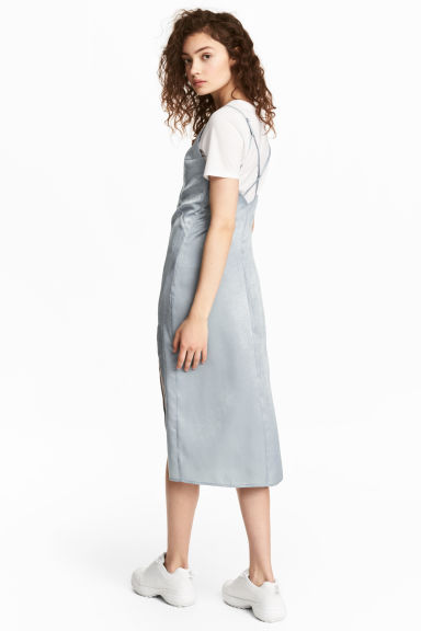 Slip dress - Light grey -  | H&M GB