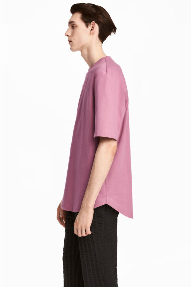 Cotton T-shirt - Heather -  | H&M CN