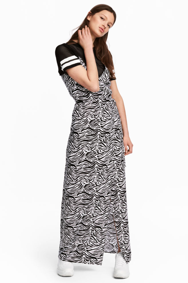 9bd1dcb4fca Maxi dress - Zebra print -