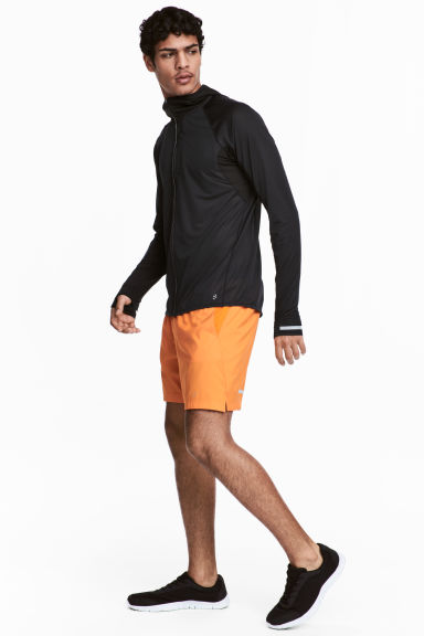 Ultra-light running shorts - Orange - Men | H&M CN