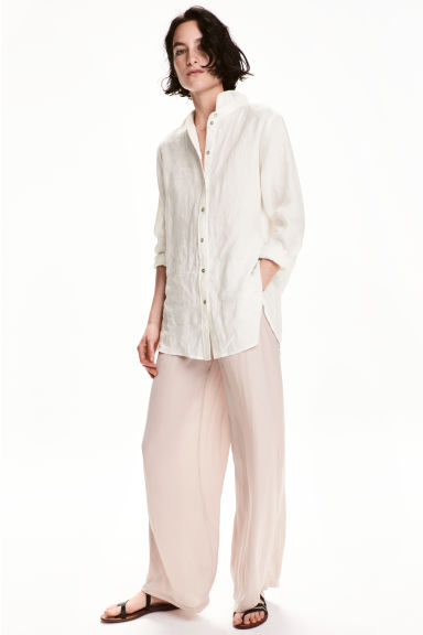 Wide trousers - Light mole - Ladies | H&M