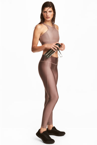 Sportlegging - Taupe - DAMES | H&M BE