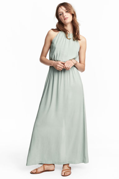 Maxi dress - Mint green - Ladies | H&M