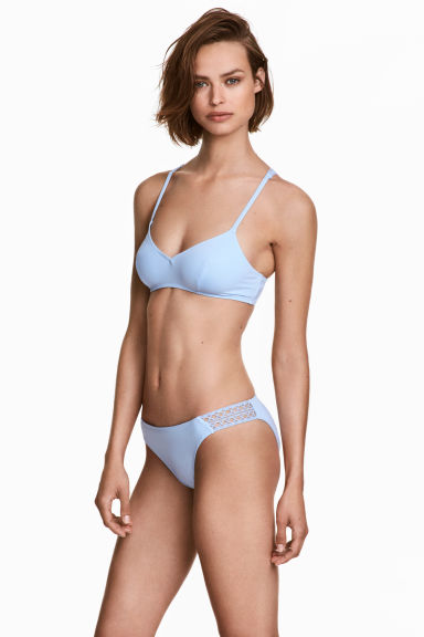 Bikini bottoms - Light blue - Ladies | H&M