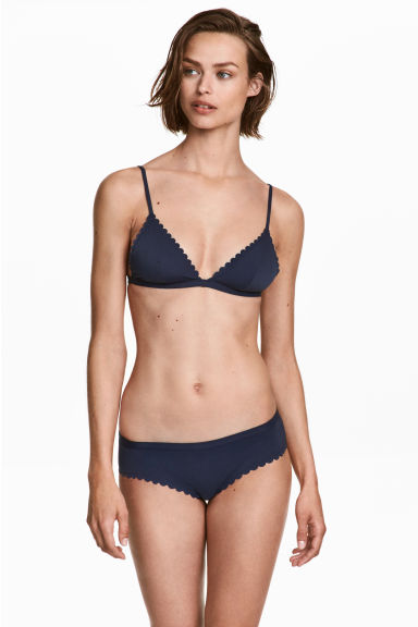 Bikini briefs - Dark blue - Ladies | H&M