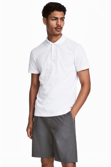Polo shirt - White -  | H&M CN