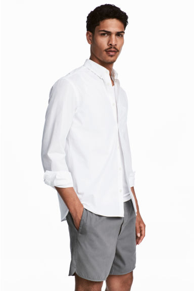 Chemise en coton Regular fit - Blanc -  | H&M FR