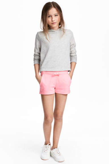 Korte tricot short - Roze -  | H&M BE