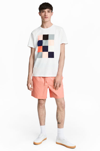 Cotton shorts - Apricot -  | H&M GB