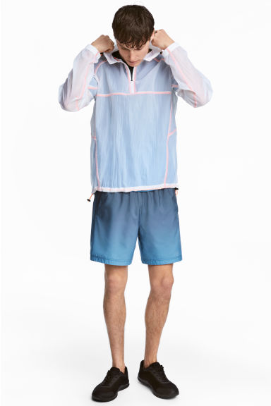 Ultra-light running shorts - Turquoise - Men | H&M CN