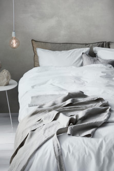 Washed Cotton Duvet Cover SetModel