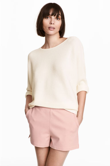 Short shorts - Light pink -  | H&M