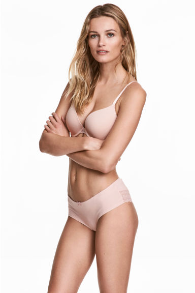 3-pack hipster briefs - Powder pink - Ladies | H&M