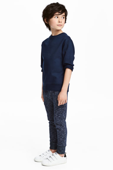 Jogginghose - Dunkelblaumeliert - Kids | H&M AT