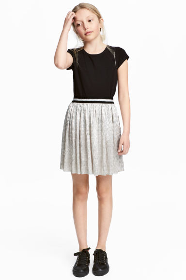 Tulle skirt - Silver -  | H&M IE