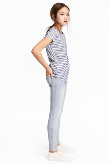 Jersey leggings - Light blue washed out -  | H&M GB
