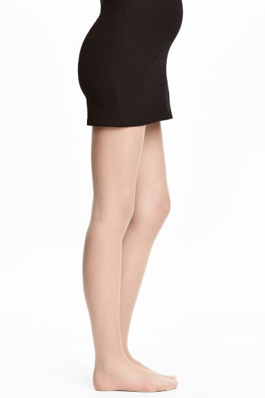 MAMA Collants, pack de 2 - Bege - SENHORA | H&M PT
