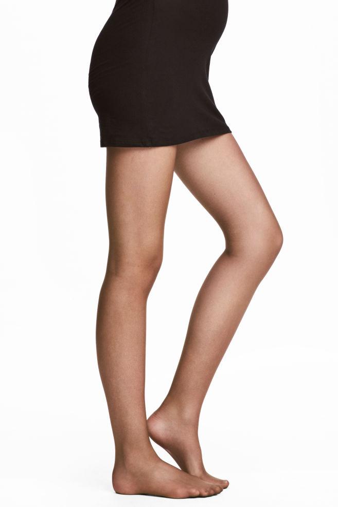 dc0c19f8f2ba0 MAMA 2-pack Tights 20 Denier - Dark brown - Ladies | H&M ...