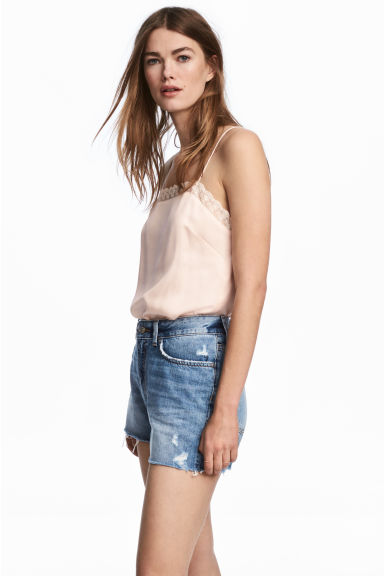 Shorts di jeans - Blu denim - DONNA | H&M IT
