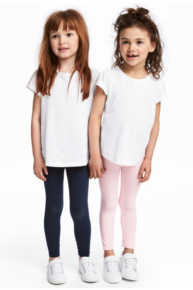 2-pack leggings - Light pink - Kids | H&M
