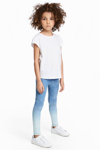 Treggings - Ljus denimblå -  | H&M SE