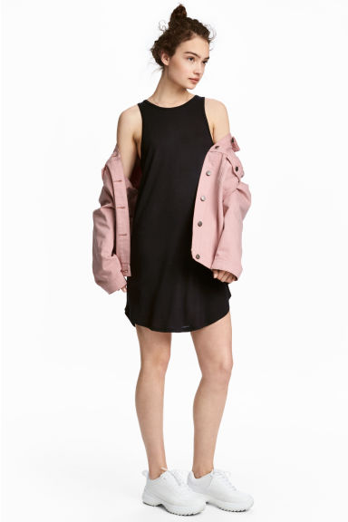 Vest dress - Black - Ladies | H&M