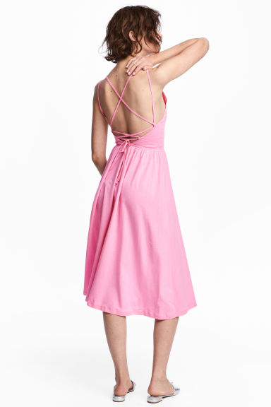 V-neck dress - Pink - Ladies | H&M CN