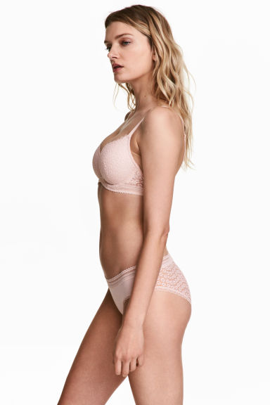Jersey hipster briefs - Powder pink - Ladies | H&M GB