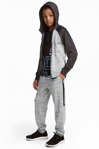 Sports trousers - Grey marl - Kids | H&M CN